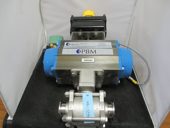 PBM Pneumatic Actuator Valve- PBM-PAVBL253S--0100 - WES 2004NBY2A2M0200