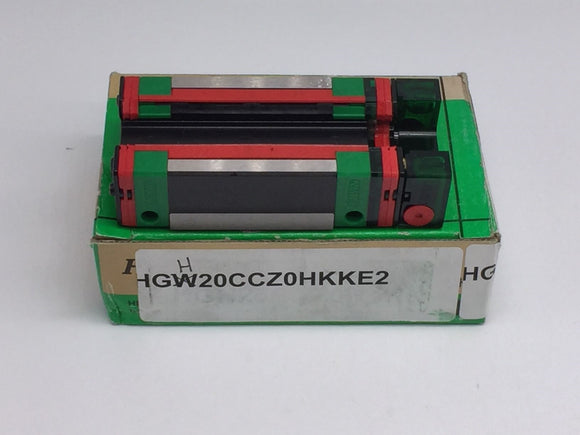 NEW HIWIN HG SERIES HEAVY LOAD BALL TYPE LINEAR GUIDEWAY 20MM PN# HGH20CAH