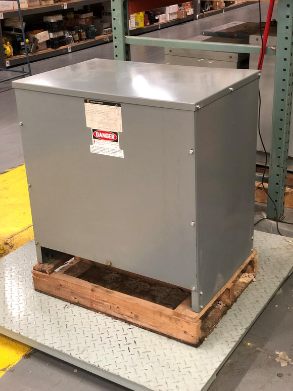 SQUARE D SORGEL 14KVA 3 PHASE INSULATED TRANSFORMER - PN# 14T104HDITNV