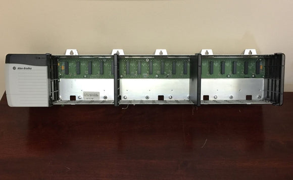 Allen Bradley 17 Slot Chassis 1756-A17 Ser B with 1756-PA72 Ser C Power Supply