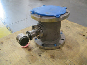 Yokogawa Flow Meter Remote Converter YF120-NNNA1A-S3S3-E with CF8M Gate Valve 8 inch Opening