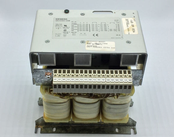 SIEMENS POWER SUPPLY 3 PHASE PRI 575-200VAC SEC 24VDC/30A PN# 4AV3302-2AB