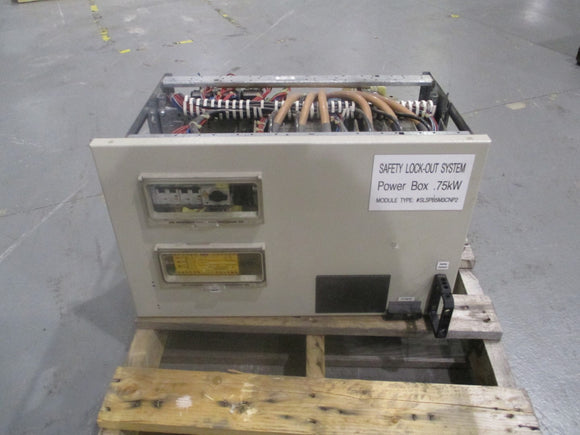 Moeller Safey Lock Out System Power Box .75kw SLSPB5M3CNP2