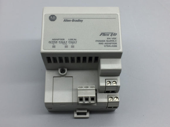 Allen Bradley Remote I/O Adapter - 1794-ASB Series D