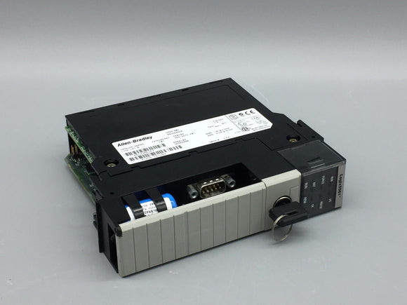 ALLEN BRADLEY CONTROLLOGIX 5561 PROCESSOR 2MB WITH KEY, SERIES B PN# 1756-L61