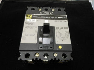 Square D Molded Case Circuit Breaker- FCL34070