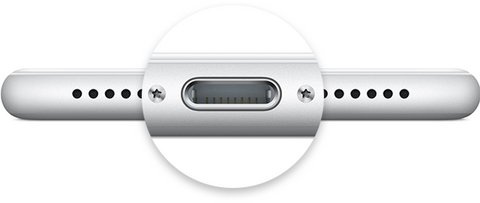 Sortie Lightning Apple - Cable USB lightning charge rapide