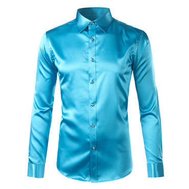 Mens Slim Fit Long Sleeve - Jarblue