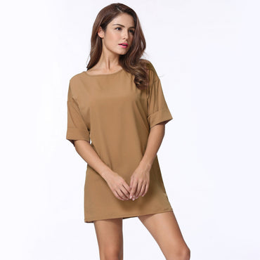 Loose T-shirt Dress - Jarblue