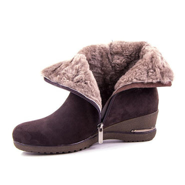 Suede Women's Boots - Jarblue