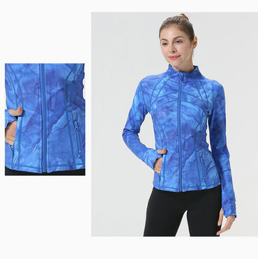 Long Sleeve Running Coat - Jarblue