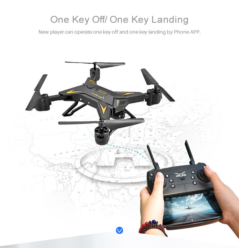 Drone Quadcopter With Wide-angle HD 1080P Wifi Fpv Camera