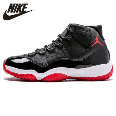 Nike Air Jordan XI Bred AJ 11 Mens Basketball Shoes