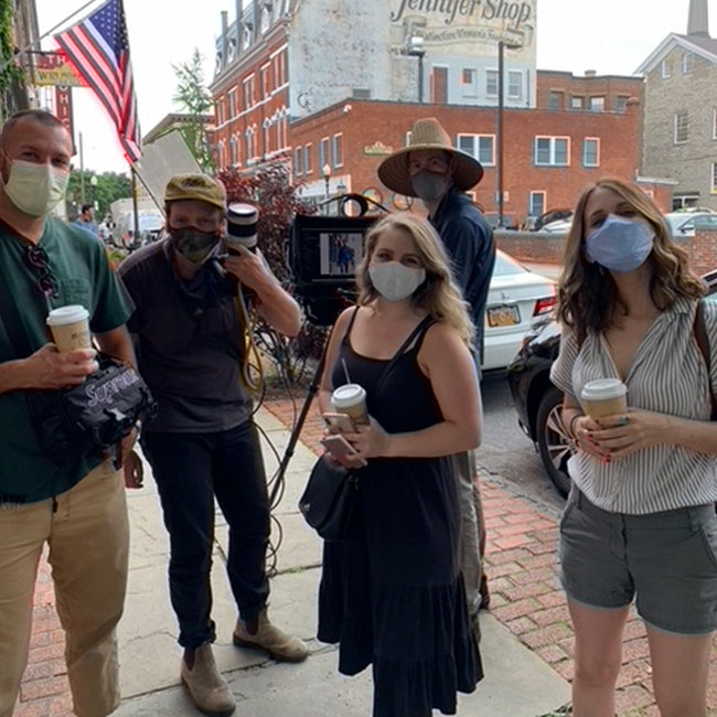 UNTUCKit Photo Team Wearing Masks