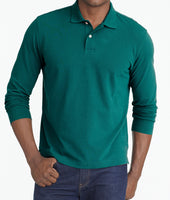 Classic Long-Sleeve Polo 1