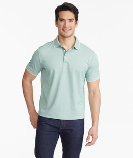 The Classic Pique Polo with Contrast Collar - FINAL SALE