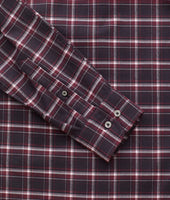 Wrinkle-Free Performance Flannel Benoit Shirt - FINAL SALE 6