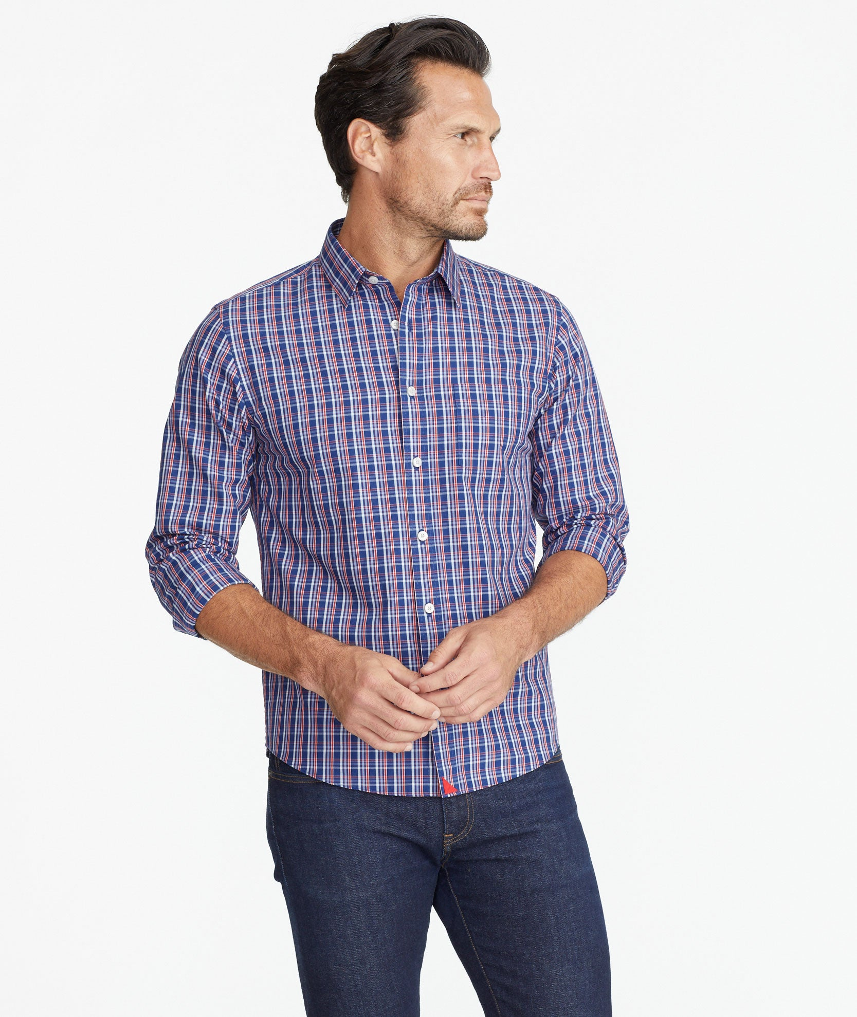 Classic Cotton Cormons Shirt by Untuc Kit