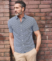 Wrinkle-Free Performance Short-Sleeve Chaddsford Shirt - FINAL SALE 5