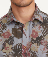 Classic Cotton Short-Sleeve Desisto Shirt Zoom