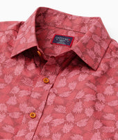 Classic Cotton Short-Sleeve Fernridge Shirt Zoom