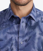 Classic Short-Sleeve Shirt with Hawaiian Print - FINAL SALE 4