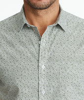 Classic Cotton Short-Sleeve Gouveia Shirt - FINAL SALE Zoom