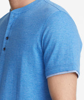 Double-Faced Short-Sleeve Henley - FINAL SALE Zoom