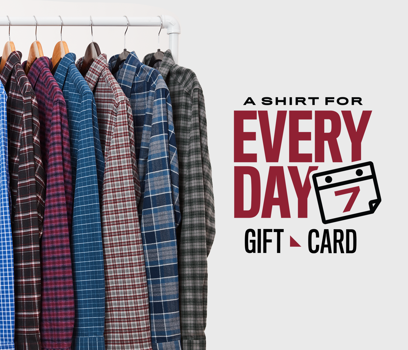 A Shirt for Every Day Gift Card
