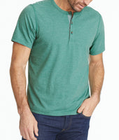 Ultrasoft Short-Sleeve Henley 1