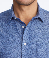 Cotton-Linen Short-Sleeve Kallmet Shirt Zoom