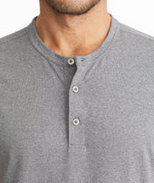 Short-Sleeve Performance Henley - FINAL SALE Zoom