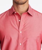 Wrinkle-Free Garment-Dyed Short-Sleeve Shirt Zoom