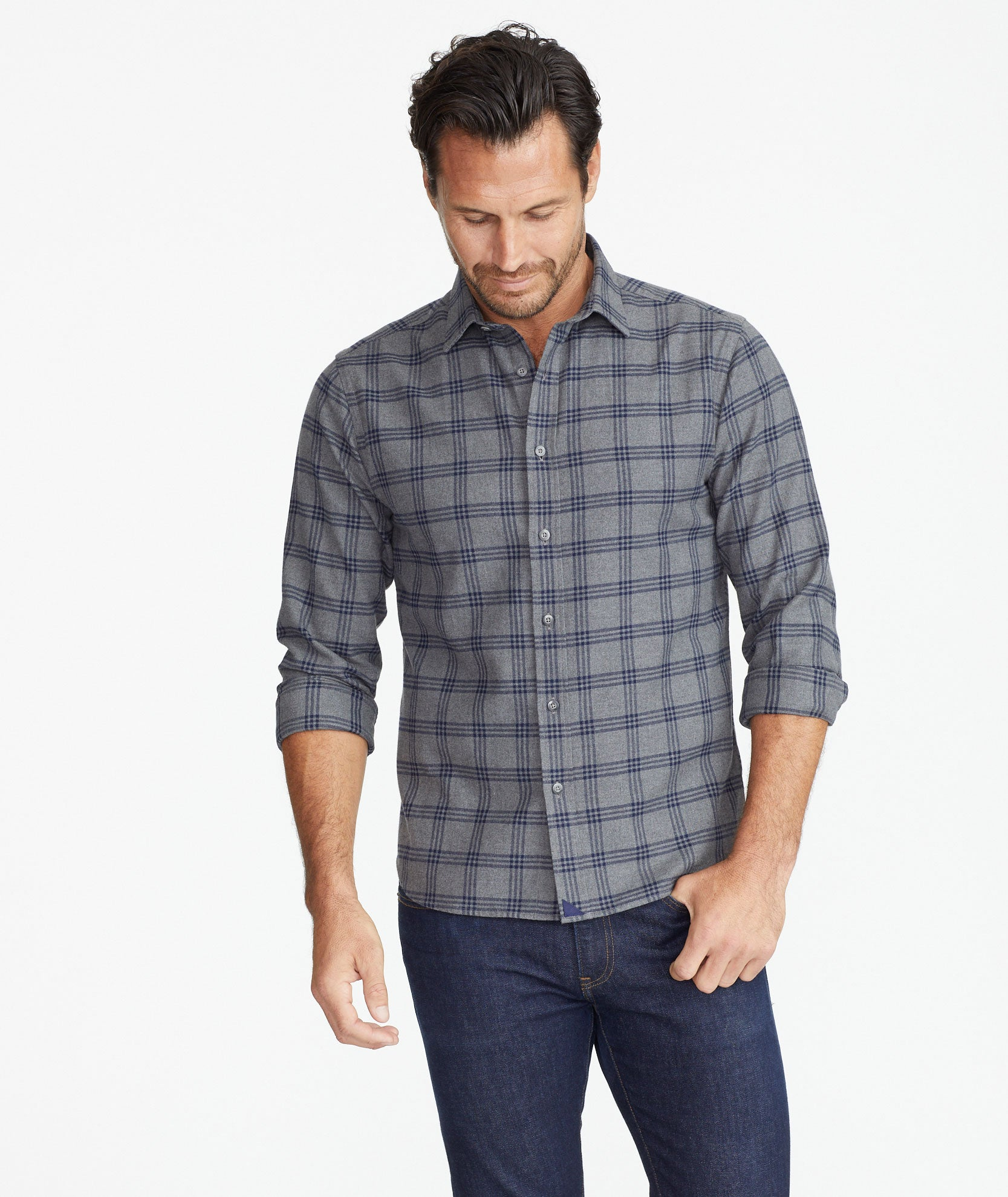 Heavyweight Flannel Lucca Shirt by Untuc Kit