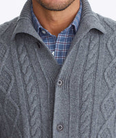 Cable Knit Cardigan Zoom