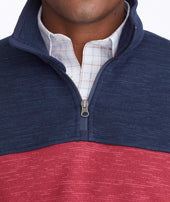 Colorblock Fleece Quarter-Zip Zoom