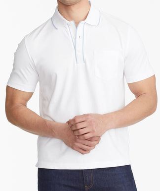 54f7ad634 The Wrinkle-Free Pique Polo ...