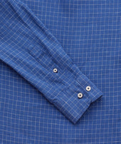 Wrinkle-Resistant Linen Piave Shirt - FINAL SALE Zoom