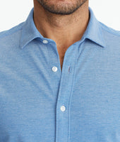 Pique Polo Button-Down 5