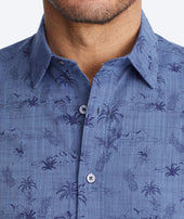 Classic Cotton Short-Sleeve Rivata Shirt Zoom