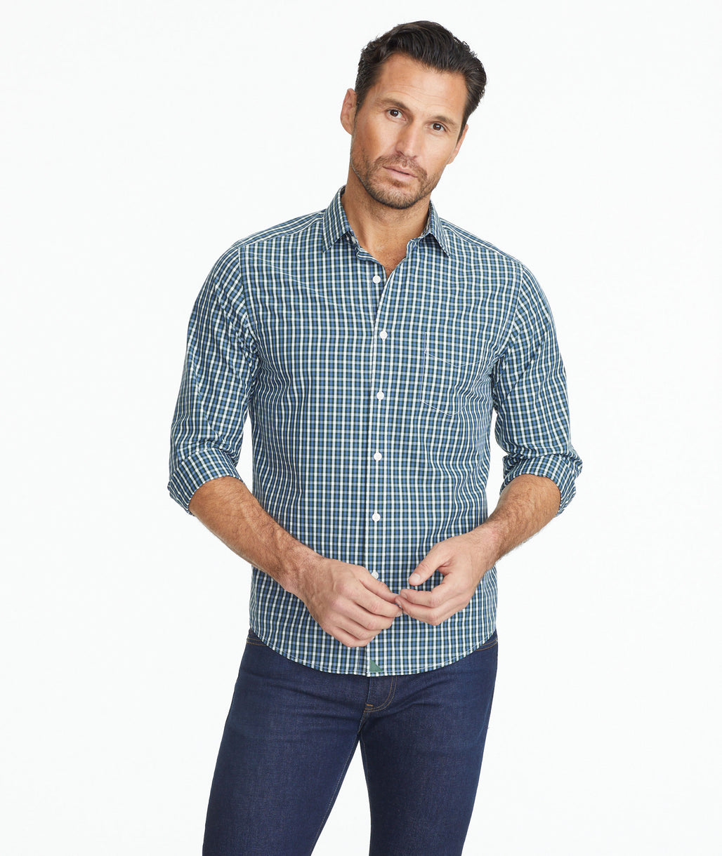 Model wearing a Classic Cotton Roccheta Shirt