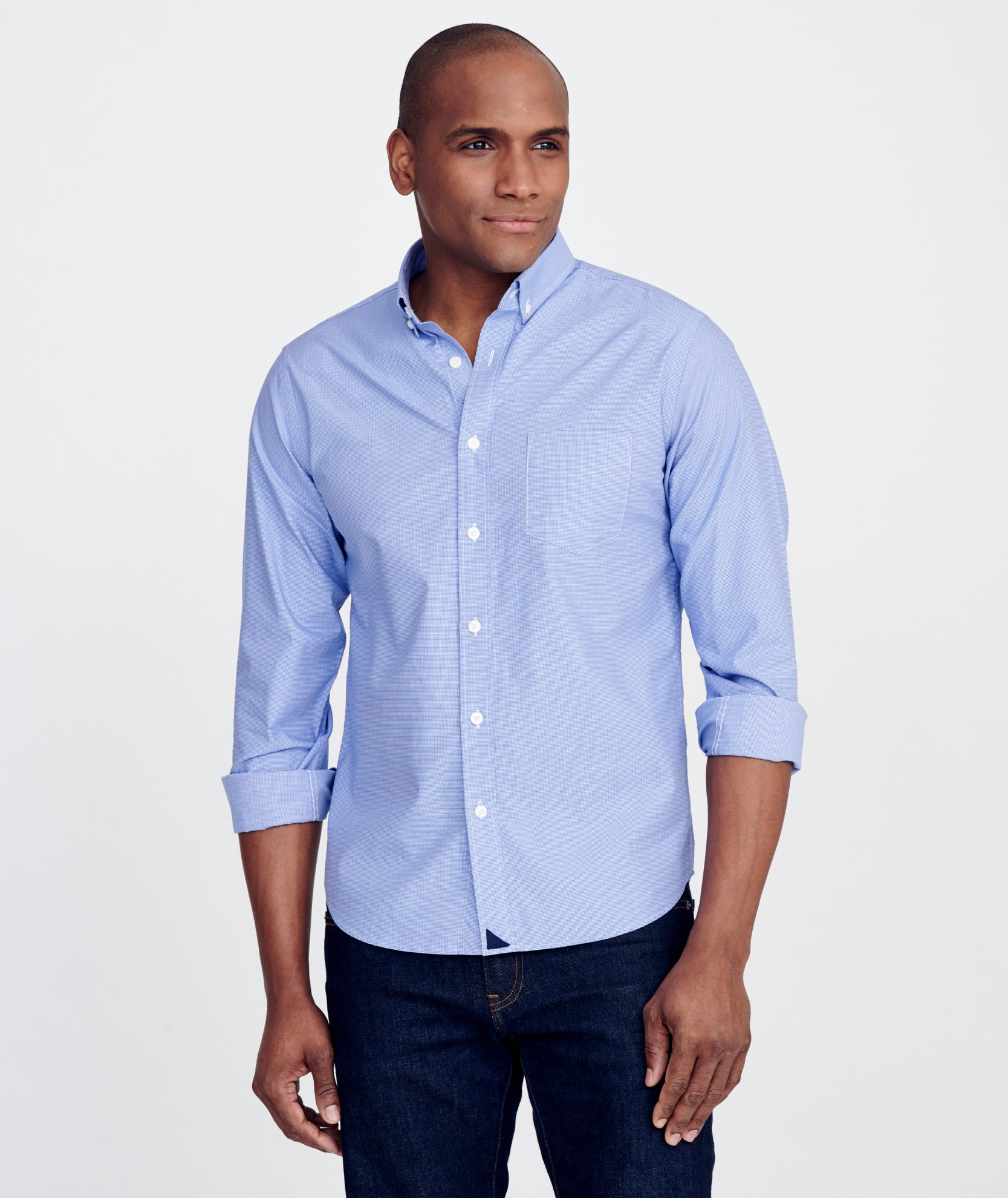 Classic Cotton Rossese Shirt by Untuc Kit