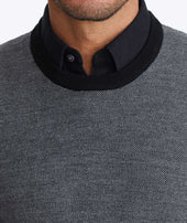 Wool Two-Tone Sweater Zoom