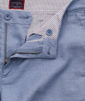 Cotton-Linen Shorts Zoom