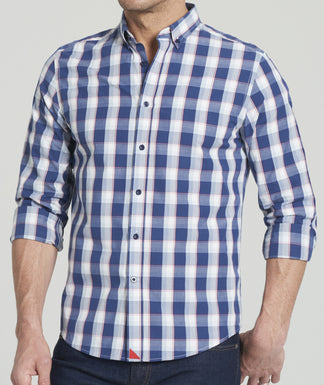St. Pierre - Button Down Collar - FINAL SALE