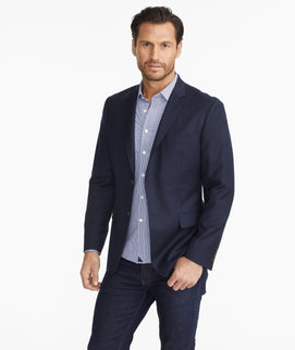 Model wearing a  Constructed Sport Coat