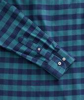 Heavyweight Wrinkle-Free Flannel Vigouroux Shirt - FINAL SALE Zoom