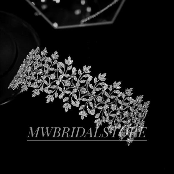 Wedding Rhinestone Headpiece, Hair Accessories, Rhinestone Hairpiece Bridal,  Headpiece Silver, Bridal Headband, Wedding crown crystal Bridal tiara, Bridal Crown,Wedding Headpiece,Crystal Tiara,Wedding Crown - MONIQUE