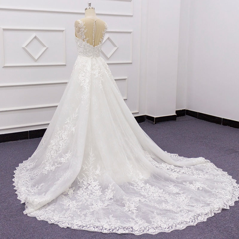 Detachable Wedding Gowns Detachable Wedding Skirt Dress