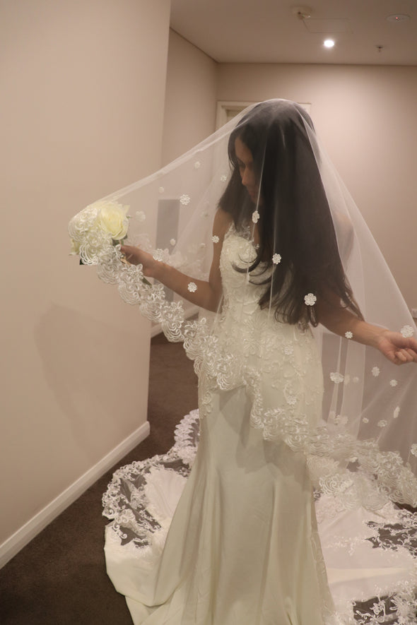 Wedding Veil in Montreal, Canada. ...